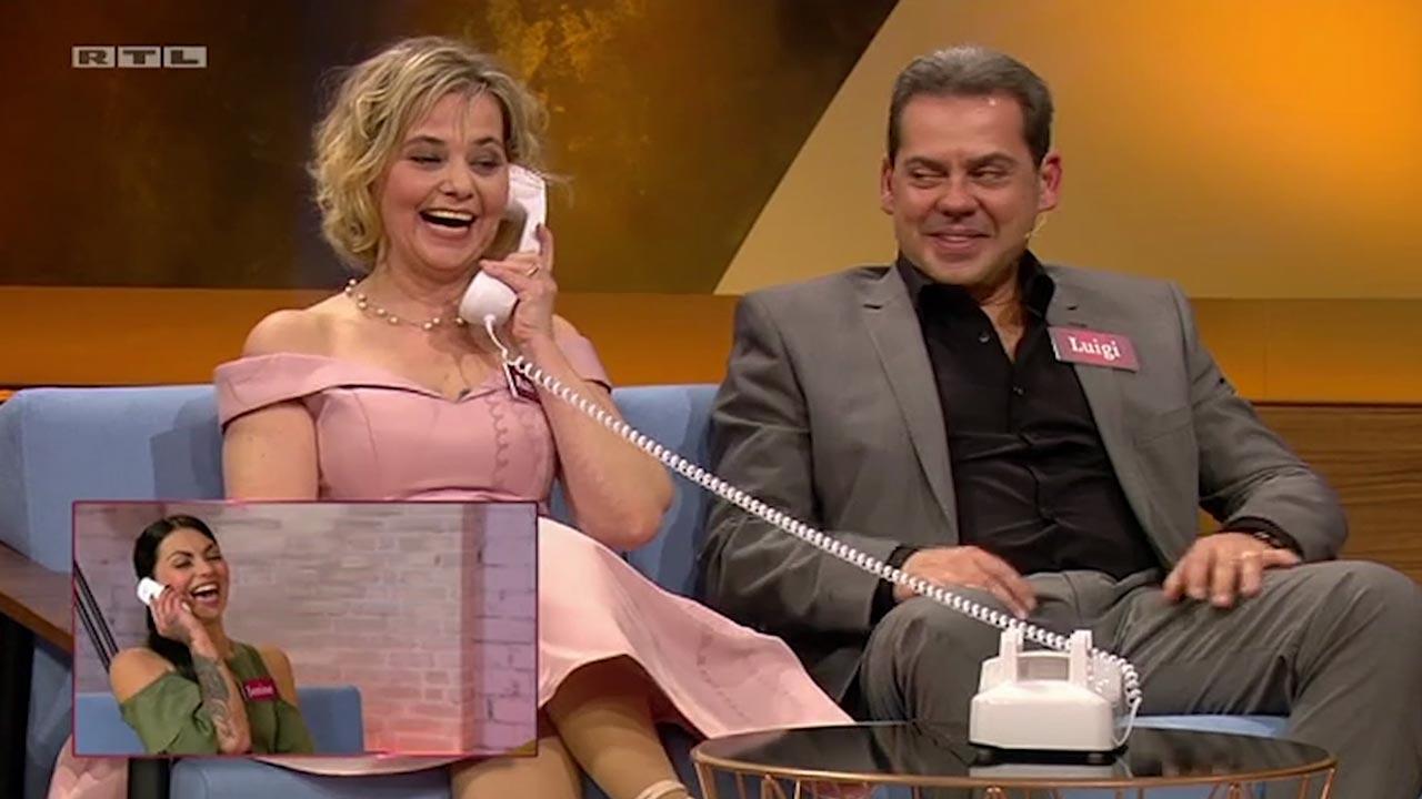 """Apr. 2017. Das """"Herzblatt"""" entblättert sich: RTL II schickt Dating-Kandidaten in die Box und lässt sie blankziehen."""